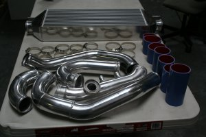 S2000 intercooler kit for Comptech or Vortech supercharged vehicle