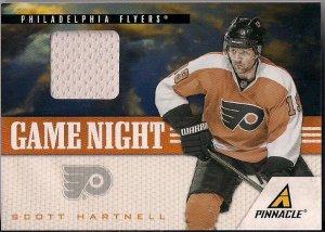 2011-12 Pinnacle  Scott Hartnell Game Night Jersey