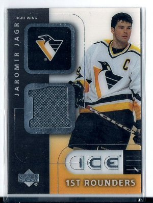 2000-01 Ice Jaromir Jagr First Rounders Jersey