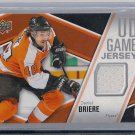 2011-12 Upper Deck Series 1 UD Game Jersey Daniel Briere