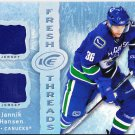 2007-08 Ice Fresh Threads Jannik Hansen