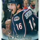 2011-12 Upper Deck Series 1 EXCLUSIVES Derick Brassard /100