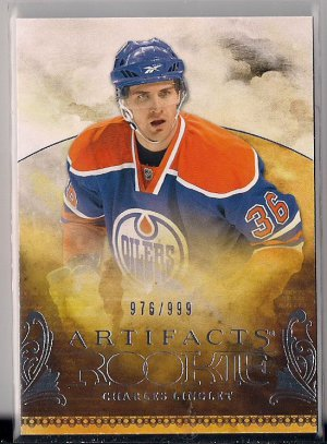 2010-11 Artifacts Rookie Charles Linglet /999