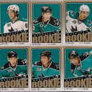 2009-10 O-Pee-Chee Rookies LOT OF 6 CARDS Couture-Demers-Ferriero