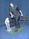 Custom Resin FRANKENSTEIN in Graveyard Model