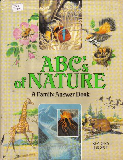 """Reader's Digest """"ABC's of Nature"""" A Family Answer Book"""