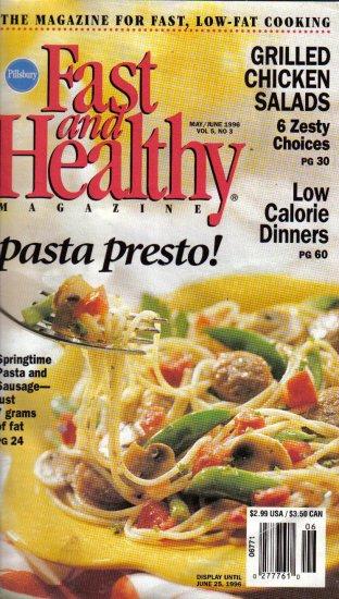 """Pillsbury's """"Fast and Healthy Magazine"""" - Pasta Presto! May/June 1996"""