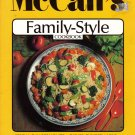 """McCall's Family-Style Coobook"""
