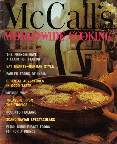 """""""McCall's Cookbook - World-Wide Cooking"""""""