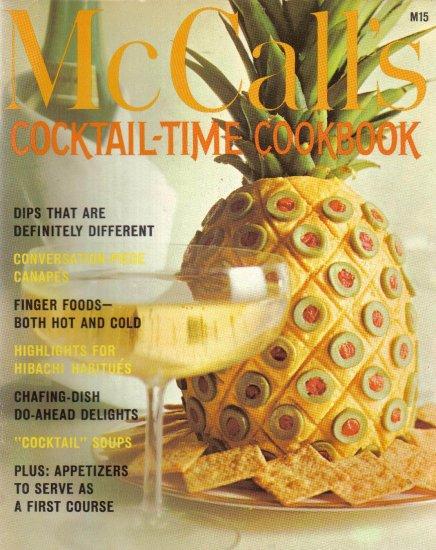 """Cocktail-Time Cookbook"", McCall's Cookbook"