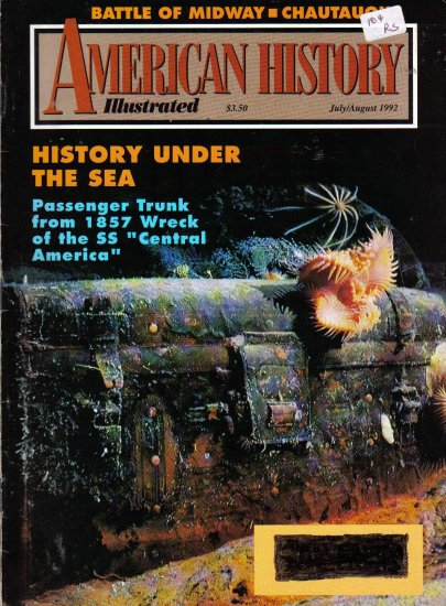 """""""American History Illustrated"""" July/August 1992"""