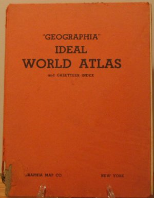 """Geographia"" Ideal World Atlas and Gazetteer Index"