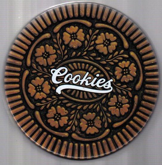 """Brown """"Cookies Tin"""""""