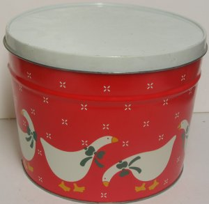 Mother  Goose  Christmas Tin