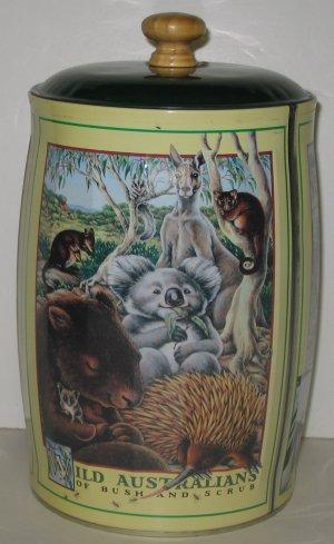 """""""Wild Australians"""" Animals Tin"""