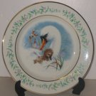 "Avon Gentle Moments Plate,  1975, ""Swan Mother with her Gosling"""