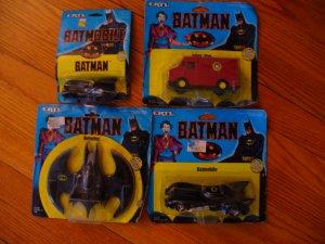 Batman Movie (first one with Nicholson as Joker) metal vehicles