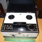 Antique wooden case Realistic reel to reel recorder