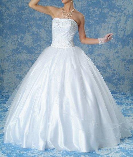 NEW DESIGNER'S WHITE WEDDING DRESS BRIDAL GOWN SIZE 12
