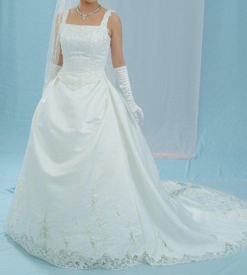 BRAND NEW LUXURIOUS WEDDING DRESS BRIDAL GOWN SZ20