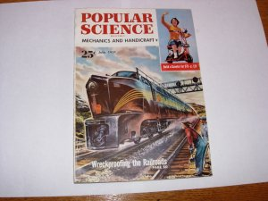 POPULAR SCIENCE MAGAZINE JULY 1951