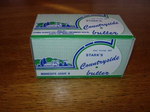 Stark's Countryside Butter Box    Stark-Sleepy Eye Farmers Creamery Ass'n. Minnesota