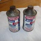 Vintage Traveller Gas-line Antifreeze  Cans