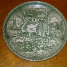 North Dakota Bread Basket of the World Collector Plate
