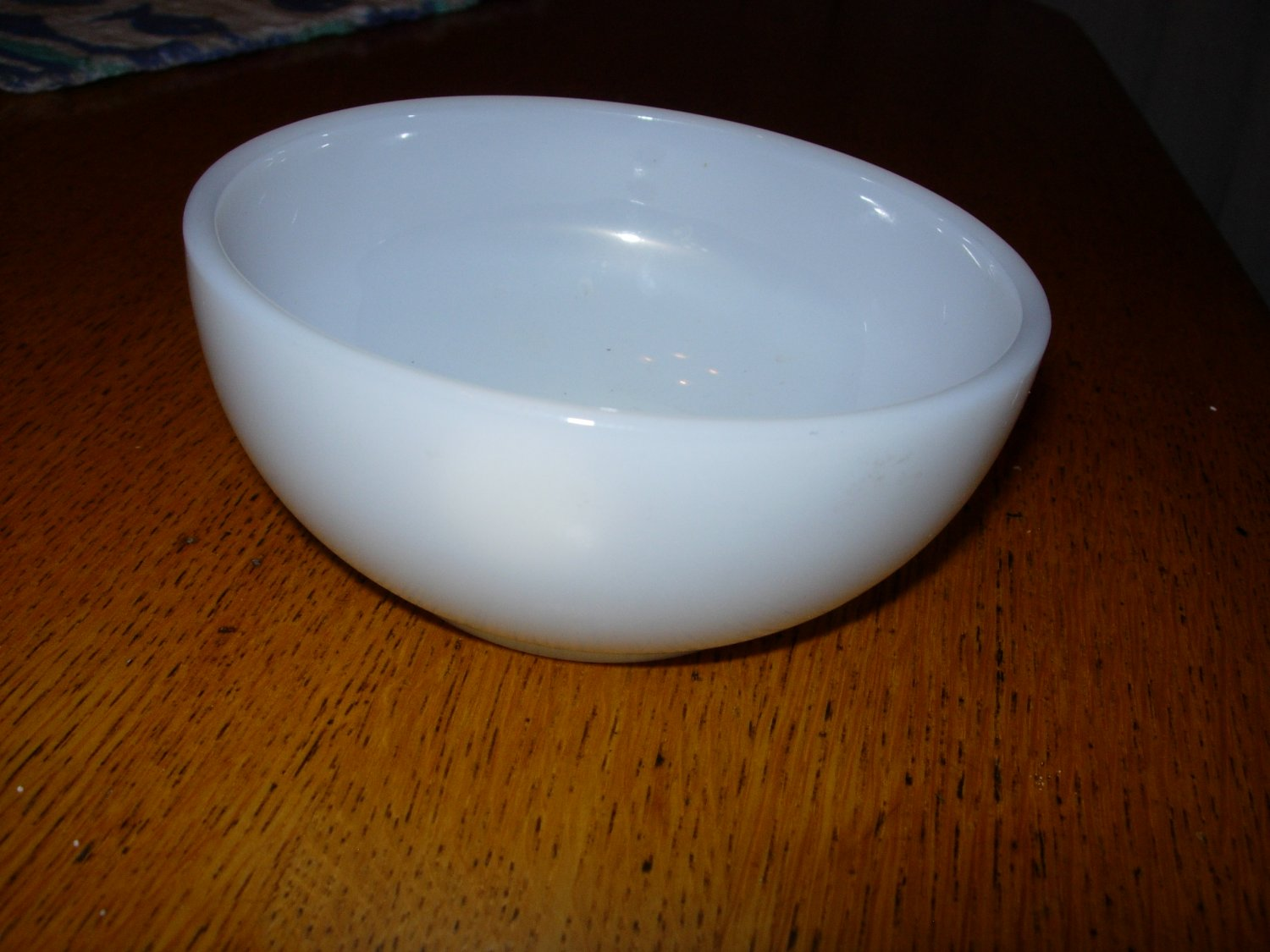 Anchor Hocking Fire King White 10oz Cereal/Chili Bowl
