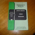 Original John Deere 1064 Wagon Operators Manual