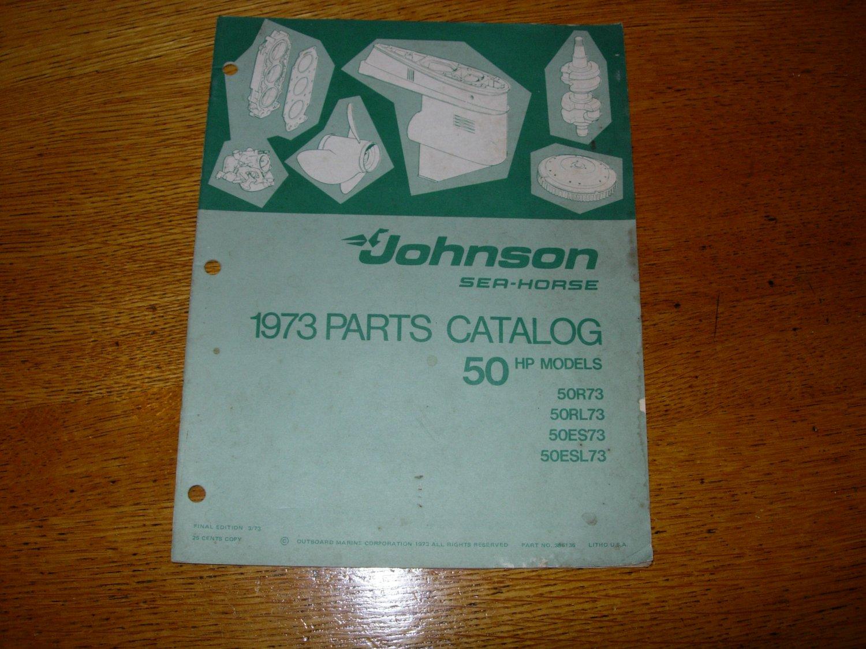 1973 Johnson Sea-Horse 50hp Parts Catalog