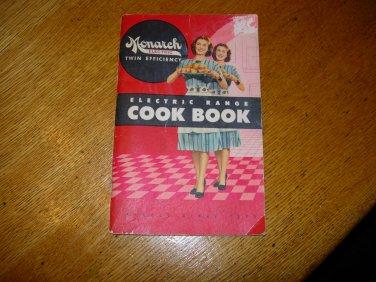 Vintage Monarch Electric Range Cookbook