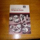 1950 IH International Harvester Refrigerator Recipe Book