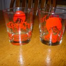 vintage Libbey 'Don Ho-Polynesian Palace' Low Ball Tumblers