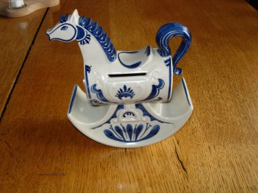 Rosenthal Studio-Linie Rocking Horse Bank-Bjorn Wiinblad-Germany