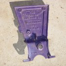 Vintage American Seeding Machine Co Embossed Cast Iron Grain Drill Side Cover