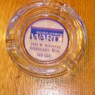 Vintage Montgomery Wards Advertising Ashtray