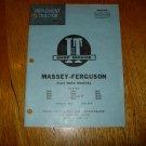 I & T Shop Service Massey-Ferguson Flat Rate MF-21