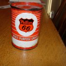 Vintage Phillips 66  Multi-Purpose 1 lb Grease Can