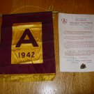 1942 State of Minnesota Agricultural Award-Lapel Pin, Service Flag