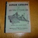 Minneapolis Moline Bale-O Matic Repair Catalog