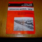 Deutz Allis Coil Tine Attachment Owner's Operator's Manual
