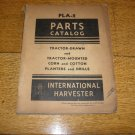 IH/Farmall PLA-2 Corn and Cotton Planter and Drills Parts Catalog