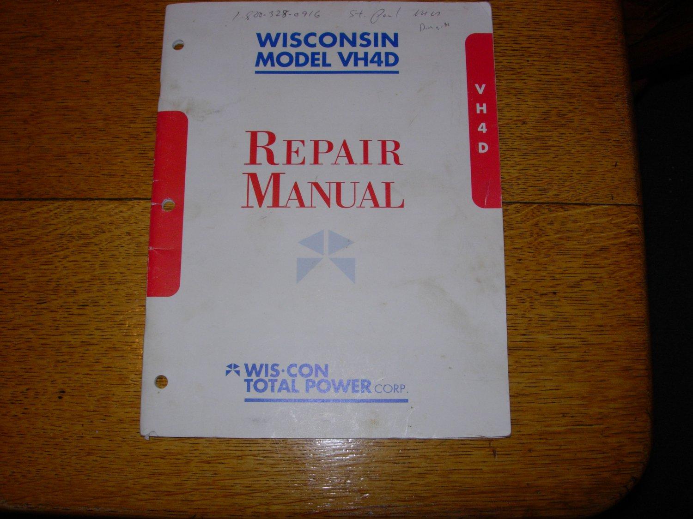 Wisconsin Engine Model Vh4d Repair Manual