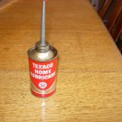 Texaco Home Lubricant Small Oil Can with Spout