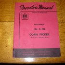 McCormick IH No 2-ME Tactor Mounted Corn Picker Manual