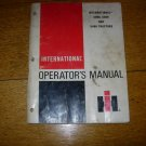 International Harvester 5088, 5288, and 5488 Operators Manual