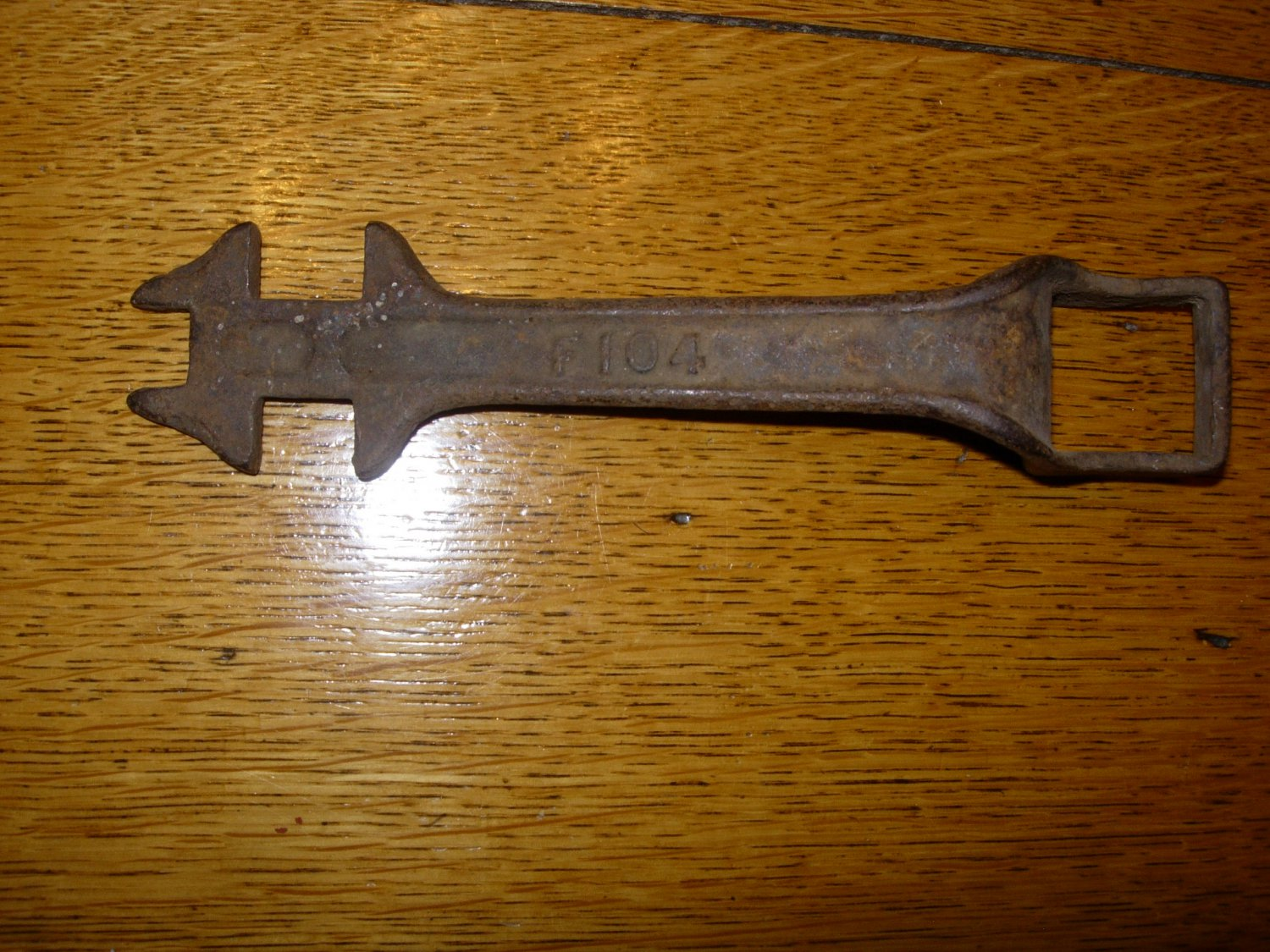 Antique F104 Implement / Buggy Wrench