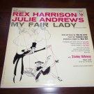 "MY FAIR LADY Rex Harrison Julie Andrews 12"" Vinyl LP 33RPM 1956 Columbia OL 5090"