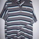 RIP CURL Casual Men's Skate Surf Striped Polo Surfer Shirt, Size XL Extra Large